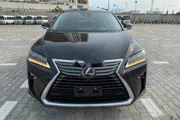 Foreign Used 2016 Black Lexus RX for sale in Lagos.