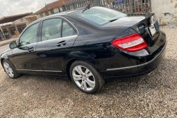 Foreign Used 2008 Black Mercedes-Benz C300 for sale in Lagos