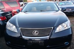 Foreign Used 2008 Black Lexus ES for sale in Lagos.