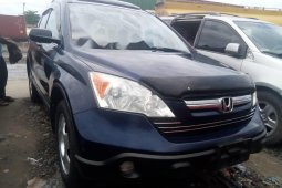 Foreign Used 2009 Dark Blue Honda CR-V for sale in Lagos