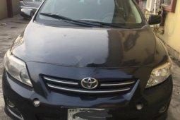 Naija Used Manual Toyota Corolla 2009 for sale