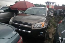 Foreign Used 2010 Gold Toyota RAV4 for sale in Lagos