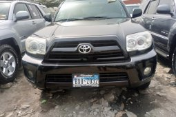 Foreign Used 2008 Black Toyota 4-Runner for sale in Lagos