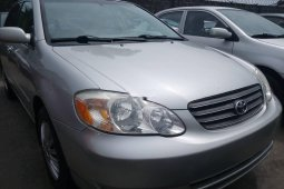 Foreign Used 2006 Silver Toyota Corolla for sale in Lagos