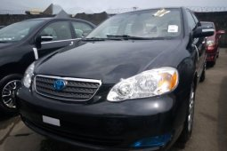Foreign Used 2006 Black Toyota Corolla for sale in Lagos