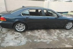 Foreign Used BMW 7 Series 2004 Model Black