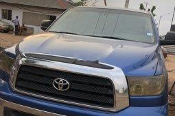 Nigeria Used Toyota Tundra 2008 Model Blue