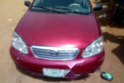 Naija Used 2004 Toyota Corolla for sale in Lagos.