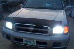Nigeria Used Nissan Pathfinder 2002 Model Silver