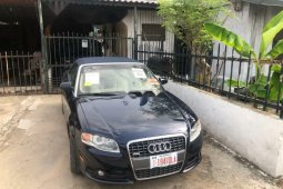 Nigeria Used Audi A4 2009 Model Black