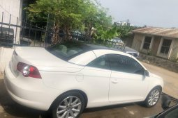 Foreign Used Volkswagen Eos 2007 Model White