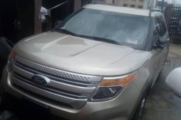 Foreign Used Ford Explorer 2011 Model Silver