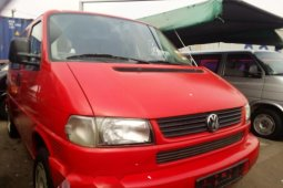 Red Volkswagen Transporter 2003 Model for sale