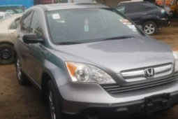 Foreign Used 2014 Grey Honda CR-V for sale in Lagos