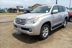 Foreign Used 2011 Silver Lexus GX for sale in Lagos.