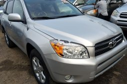 Foreign Used 2008 Silver Toyota RAV4 for sale in Lagos.