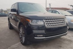 Naija Used Land Rover Range Rover 2015 Model