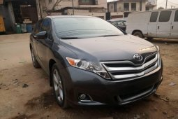 Foreign Used 2013 Grey Toyota Venza for sale in Lagos.