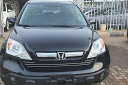 Foreign Used 2009 Black Honda CR-V for sale in Lagos