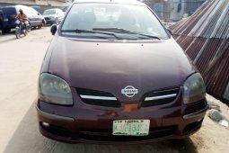 Nigeria Used Nissan Almera Tino 2003 Model Red