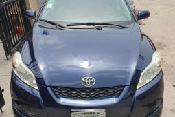 Nigeria Used Toyota Matrix 2009 Model Blue