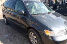 Tokunbo 2003 Model Honda Odyssey for sale