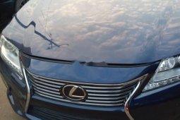 Foreign Used 2014 Dark Blue Lexus ES for sale in Lagos.