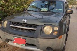 Locally Used 2004 Green Nissan Xterra for sale in Lagos.
