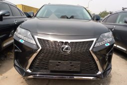 oreign Used 2013 Black Lexus RX for sale in Lagos.