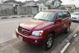 Naija Used Toyota Highlander 2003Model for sale