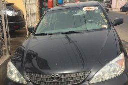 Foreign Used Toyota Camry 2004 Model Black