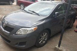 Foreign Used Toyota Corolla 2009 Model Gray