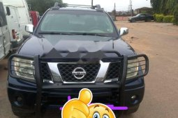 Nigeria Used Nissan Frontier 2007 Model Blue