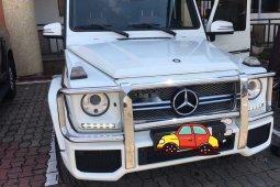 Nigeria Used Mercedes-Benz G-Class 2014 Model White