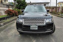 Nigeria Used Land Rover Range Rover Vogue 2015 Model Black