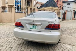Nigeria Used Lexus ES 2006 Model Silver