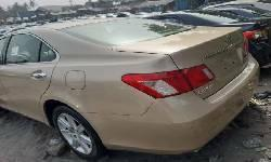 Foreign Used Lexus ES 2008 Model Gold