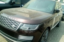 Foreign Used Land Rover Range Rover 2019 Model Brown