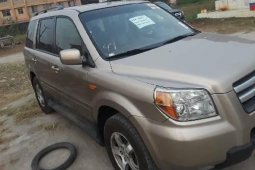 Clean Foreign Used Honda Pilot 2007 at ₦2,300,000 for sale
