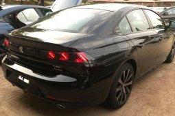 Brand New 2020 Black Peugeot 508 for sale in Abuja.