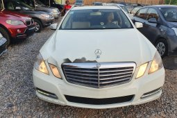 Nigeria Used Mercedes-Benz E350 2012 Model White