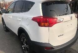 Foreign Used Toyota RAV4 2014 Model White