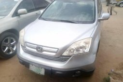 Nigeria Used Honda CR-V 2009 Model Silver