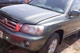 Naija Used 2005 Green Toyota Highlander for sale in Lagos