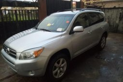 Foreign Used Toyota RAV4 2007 Model Silver