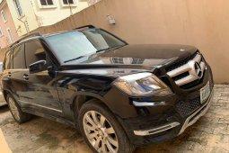 Naija Used 2012 Black Mercedes-Benz GLK for sale in Lagos.