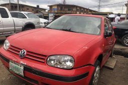 Nigeria Used Volkswagen Golf 2005 Model Red