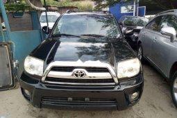 Foreign Used Toyota 4-Runner 2006 Model Black
