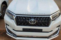Foreign Used Toyota Land Cruiser Prado 2020 Model White