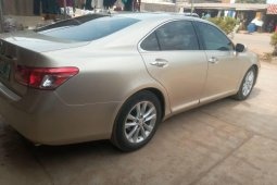 Nigeria Used Lexus ES 2011 Model Gold